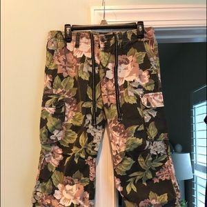 Lucky Brand Cargo Capri Pants